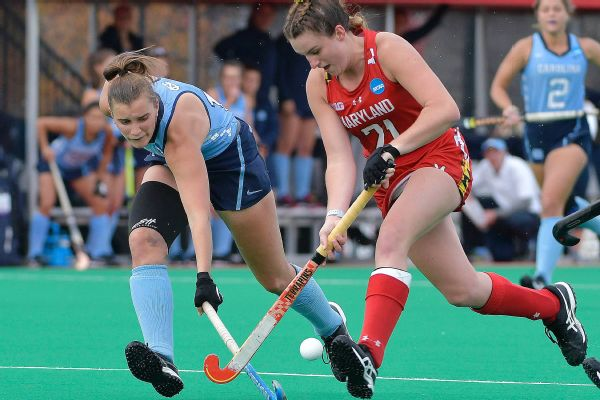 UNC vs Maryland field hockey
