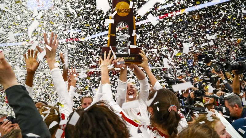 Stanford volleyball trophy
