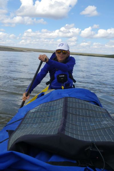 An adventurer at heart, Ellis has gone on monthlong canoe trips in the Arctic.
