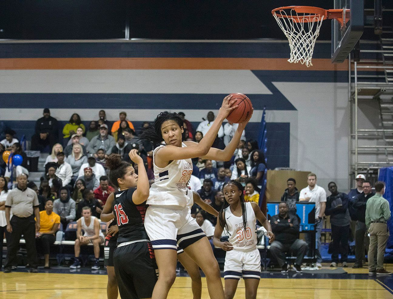 Maori Davenport did much more than score in her return to the Charles Henderson lineup.