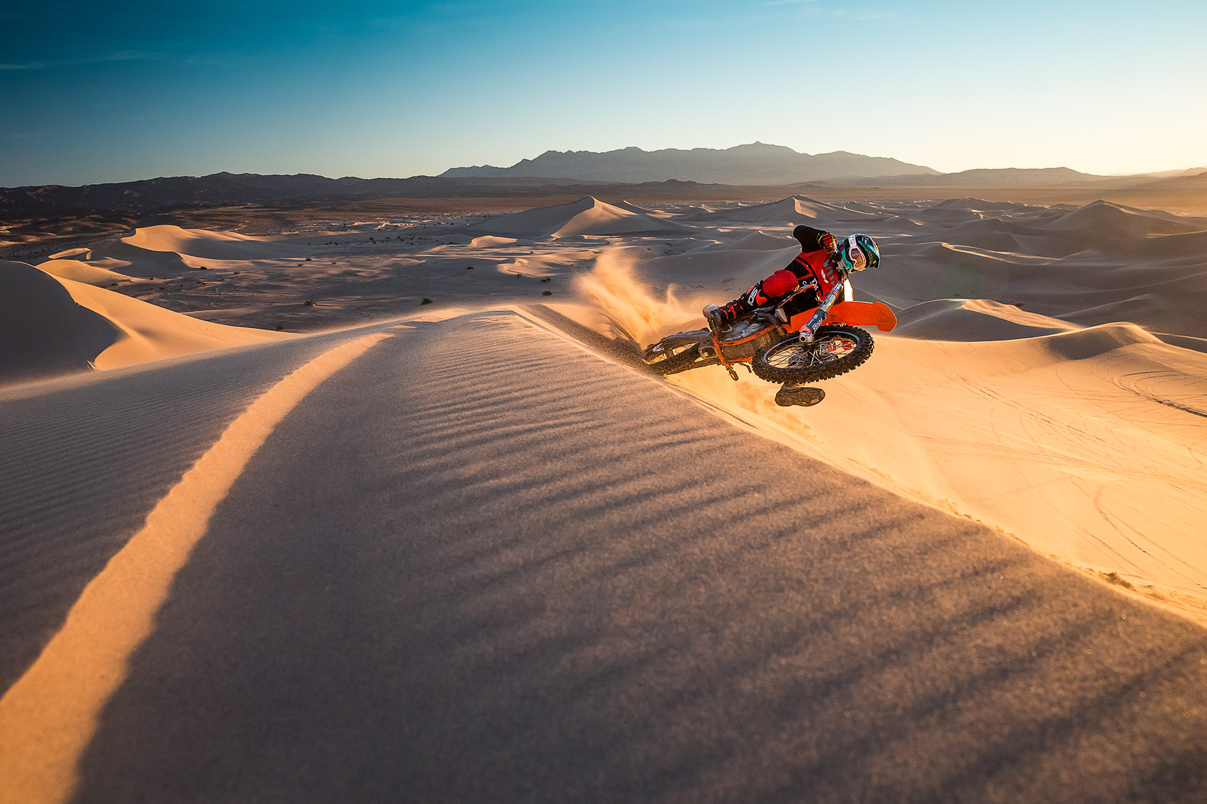 Tom Parsons, Dumont Dunes, California