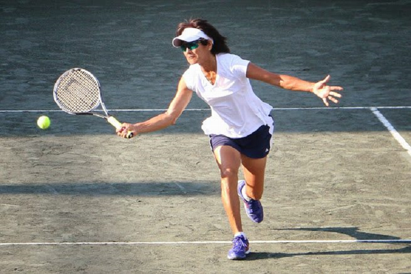 Tina Karwasky has won four singles and two doubles Gold Slams.