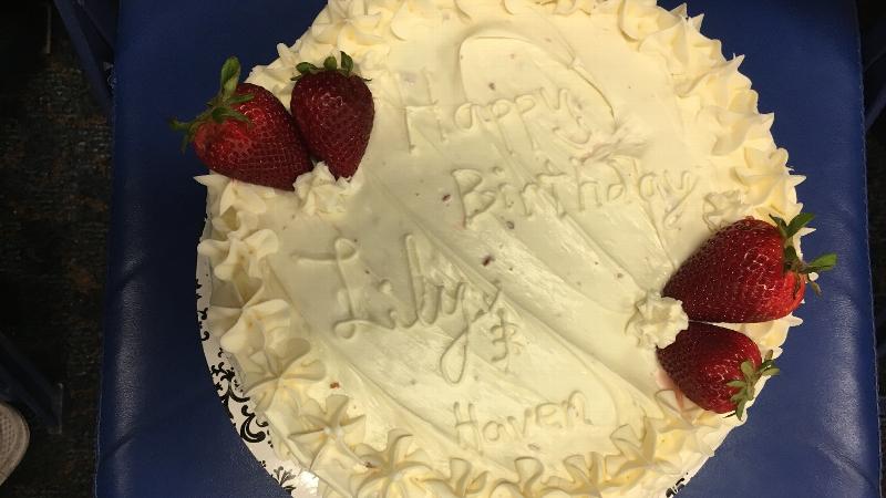 What athletes eat: Florida pitcher Kelly Barnhill's red velvet cake