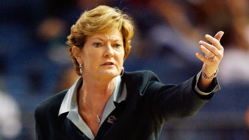 Pat Summitt was a championship-winning coach at Tennessee.