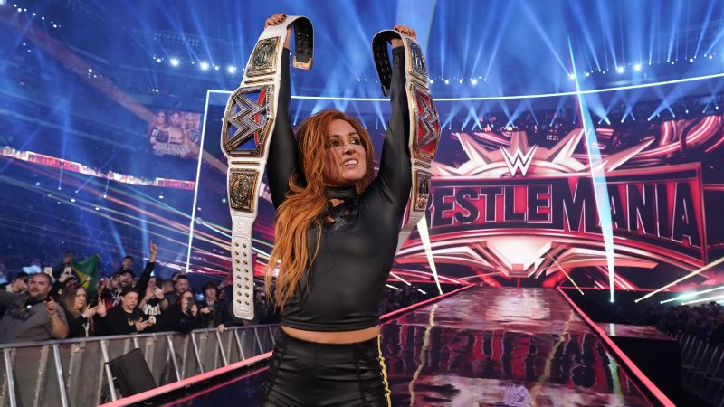 Becky Lynch WWE WrestleMania 35