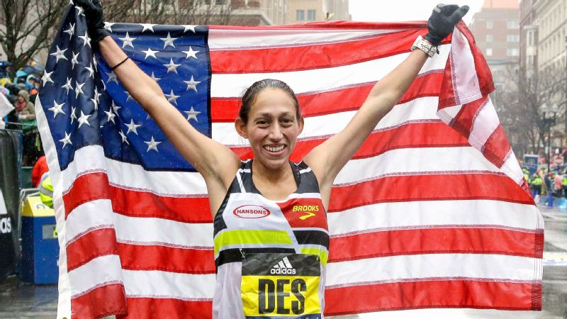 American Des Linden surprised a lot of people by winning the 2018 Boston Marathon.