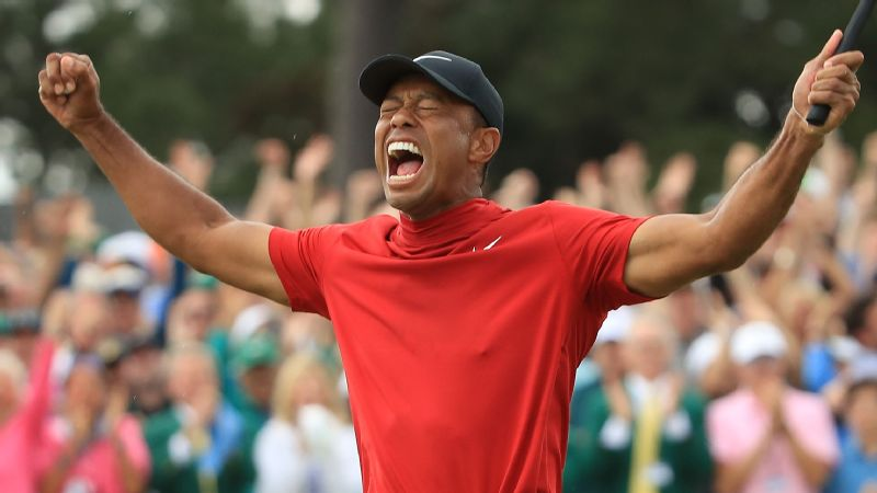 2019 Masters Tournament ( Tiger Woods)