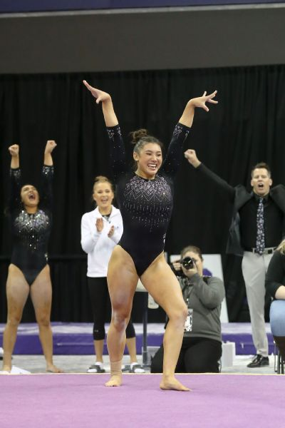 Kyla Ross says she has come out of [her] shell at UCLA, and credits Kondos Field.