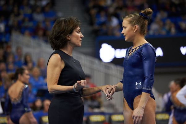 Madison Kocian (pictured) and Kyla Ross are the first two Olympic gold medalists to compete in NCAA gymnastics, and both chose UCLA.