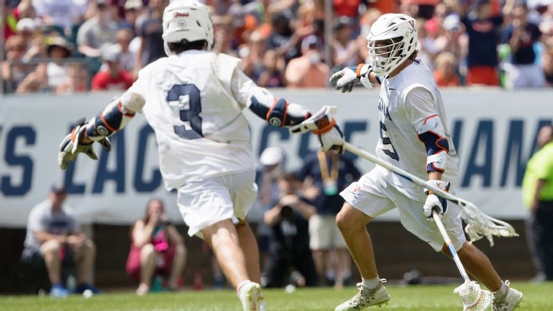 Virginia men's lacrosse won the 2019 title and has six national championships.
