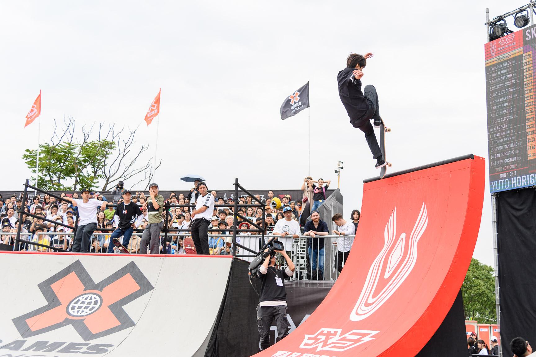 X Games Shanghai 2019: Yuto Horigome