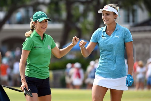 Jaye Marie Green and Lexi Thompson