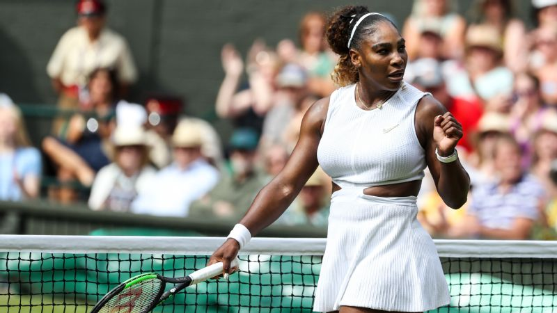 Serena Williams raced through her semifinal against Barbora Strycova in less than an hour.