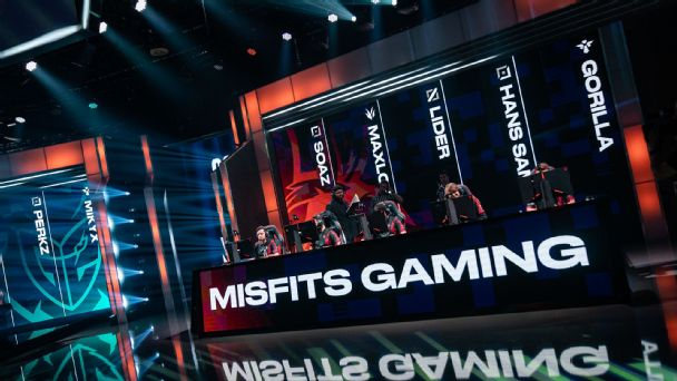 The Misfits main roster in the LEC.
