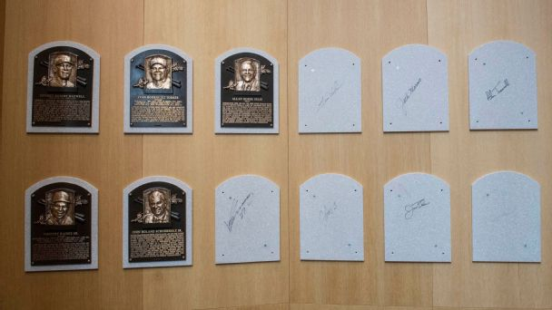Hall of Fame Plaques in the National Baseball Hall of Fame