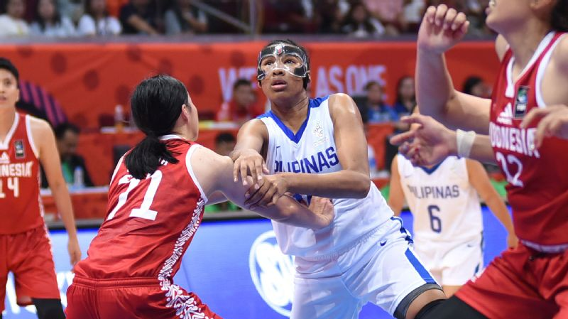 Jack Animam and the rest of Gilas Pilipinas Women opened their campaign with a win over Indonesia