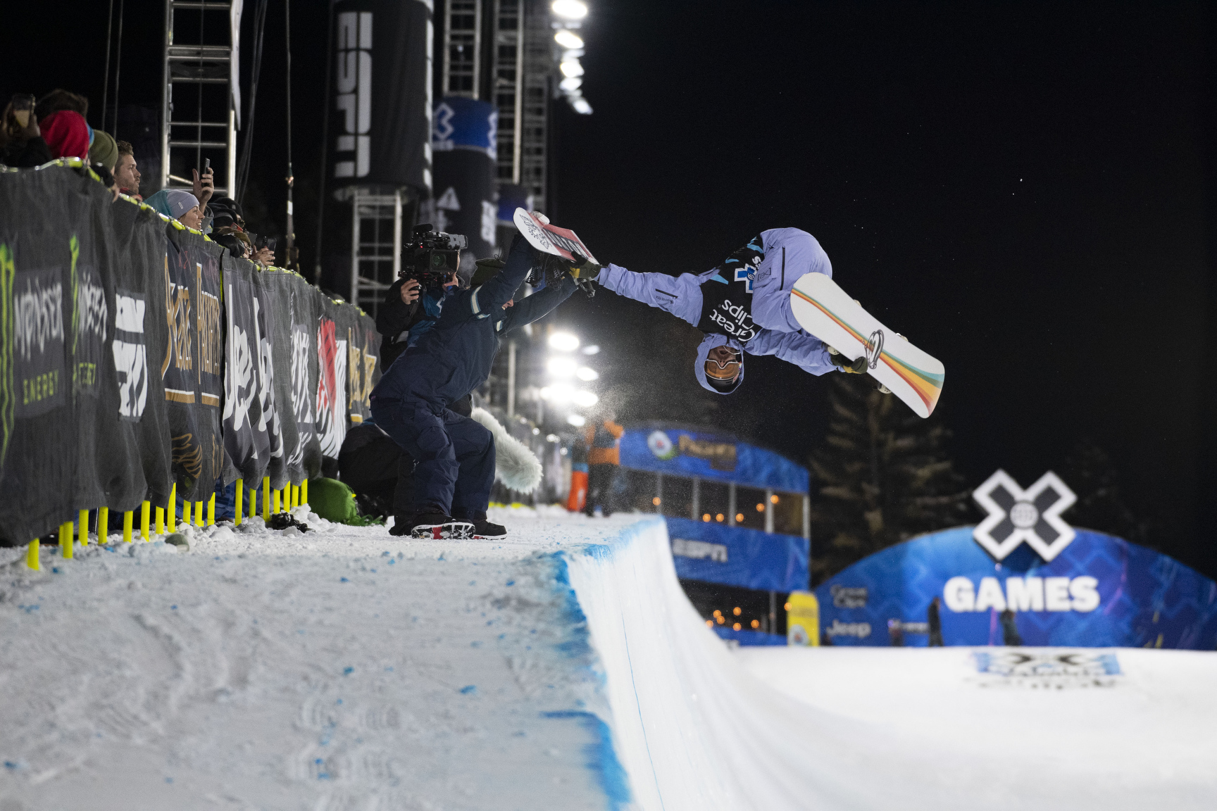 Danny Davis, Snowboard Superpipe Session