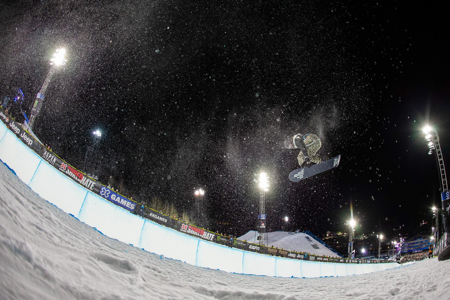 Brooke D'Hondt, W Snowboard SuperPipe