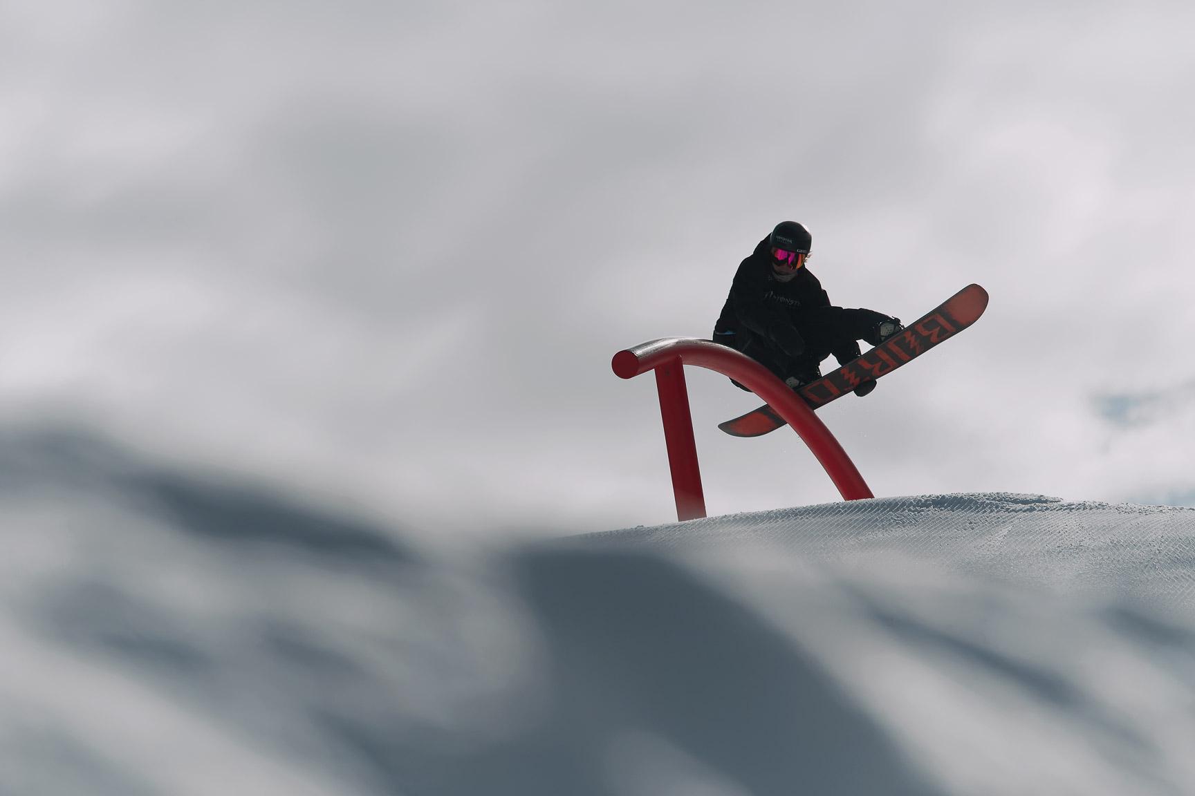 Darcy Sharpe, Snowboard Rail Jam