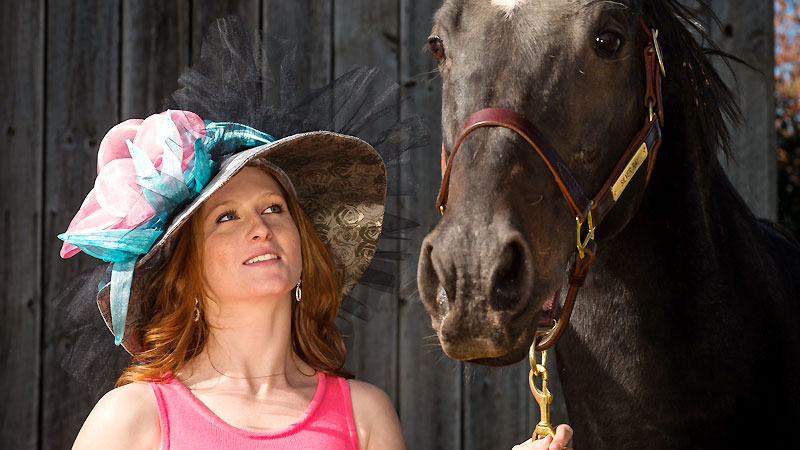 Old Friends Thoroughbred Retirement hat auction