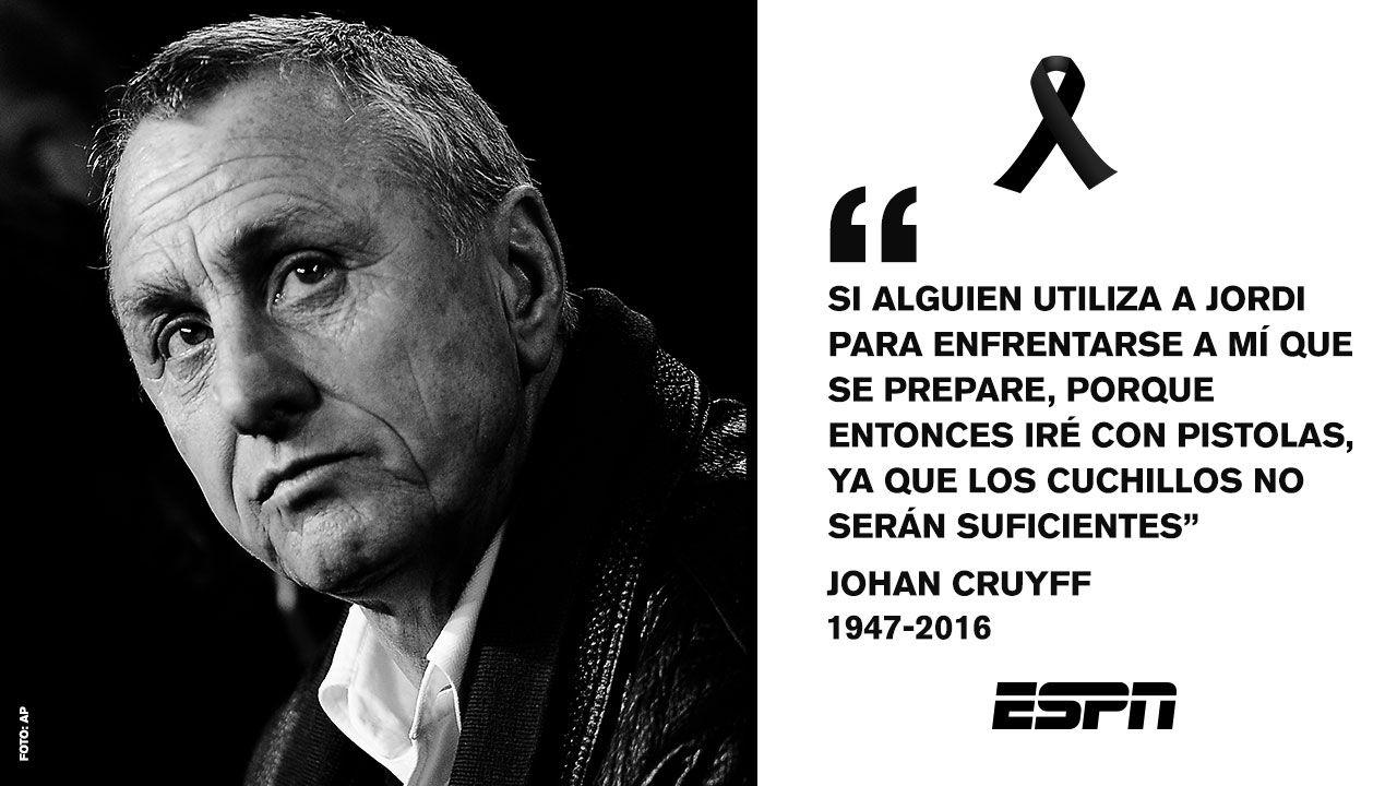 Las Frases Que Nos Dejó Johan Cruyff