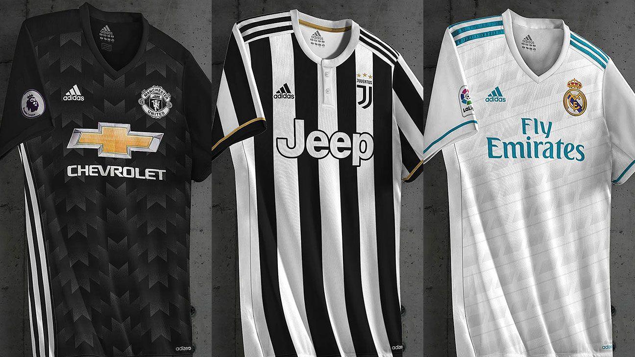 Filtran imágenes de las nuevas camisetas de Real Madrid fe13f96311766