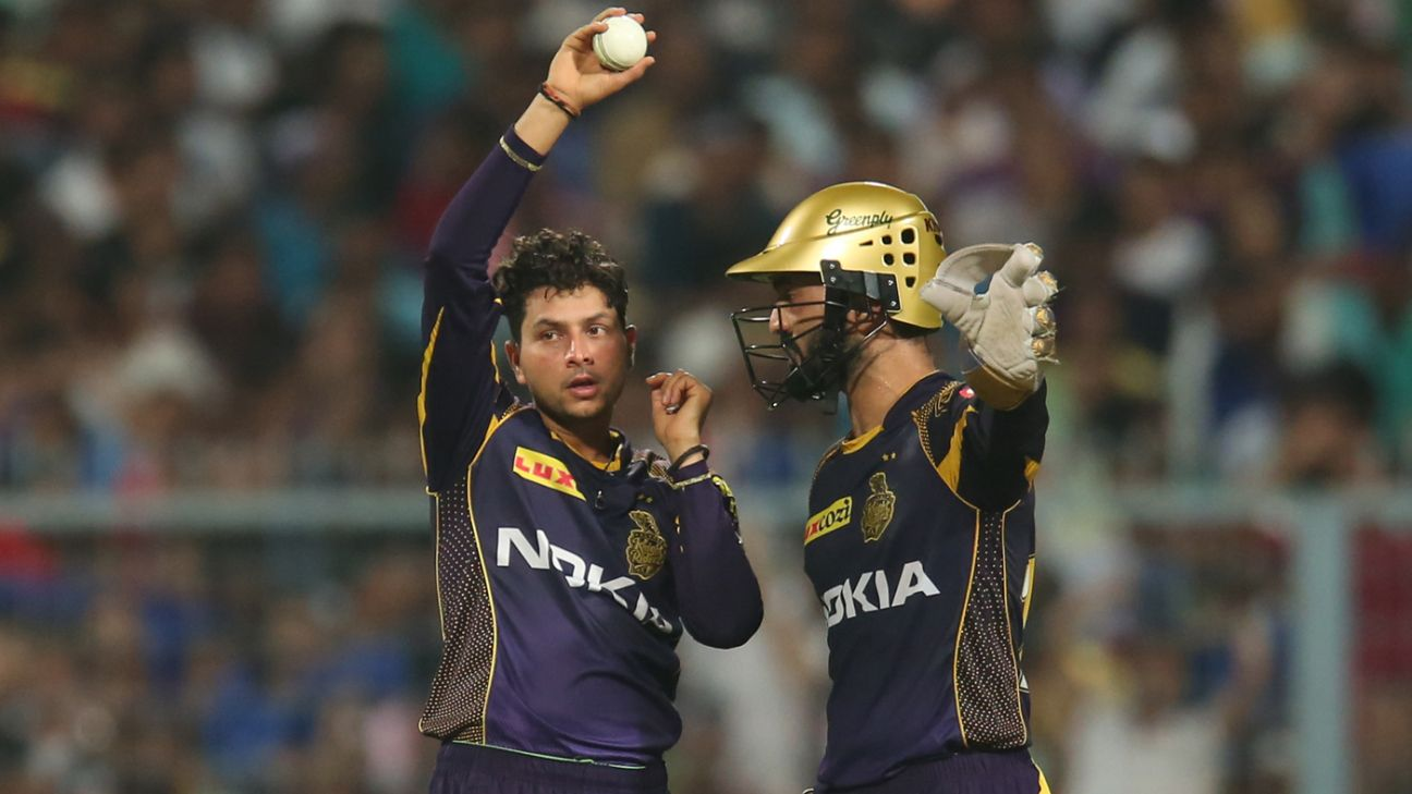 Bruised, battered, and down on his knees – Kuldeep's horror IPL 2019 continues