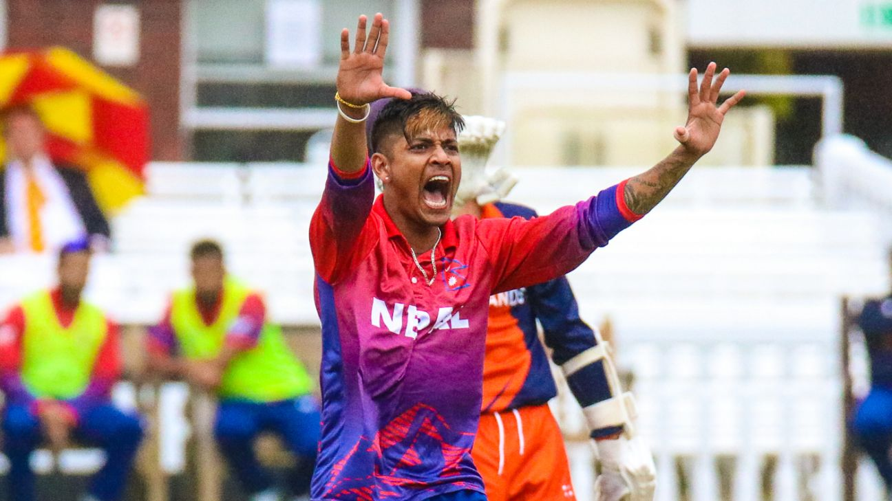 Sandeep Lamichhane, Paras Khadka can be 'trailblazers' for Nepal cricket - Jimmy Adams