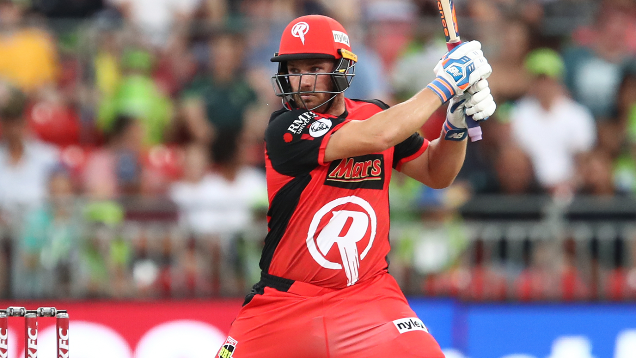 Finch reprimanded for smashing chair but heads to India buoyed by BBL triumph   ESPN.co.uk