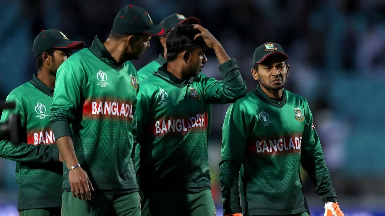 Bangladesh bowling attack exposed for lack of wicket-takers