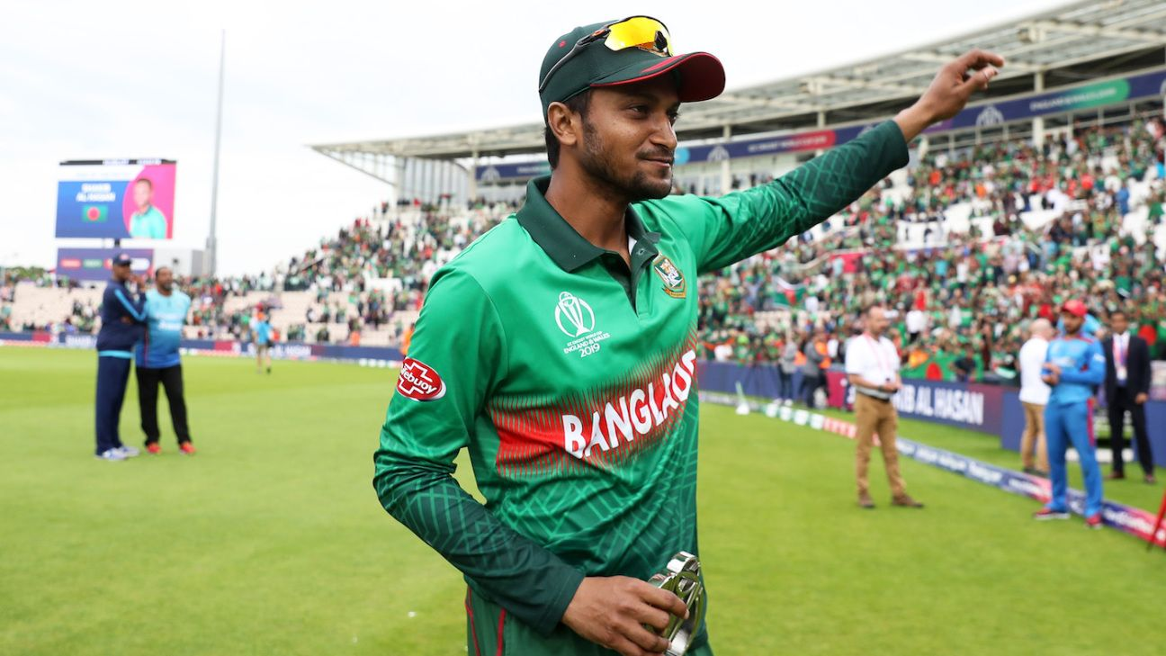 'Won't be easy but we will give our best shot against India' - Shakib