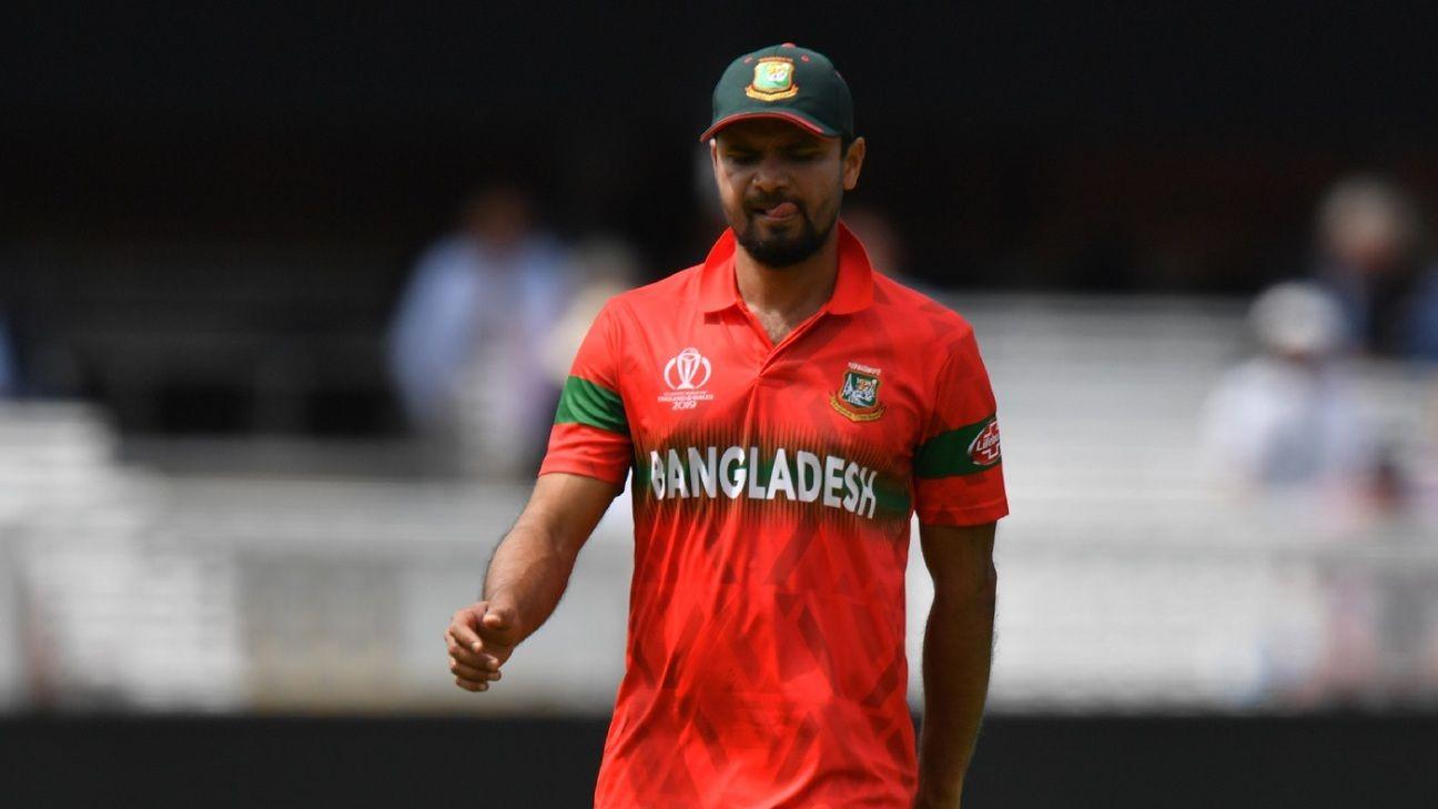 Mashrafe Mortaza out of Sri Lanka tour with hamstring injury, Tamim Iqbal to lead