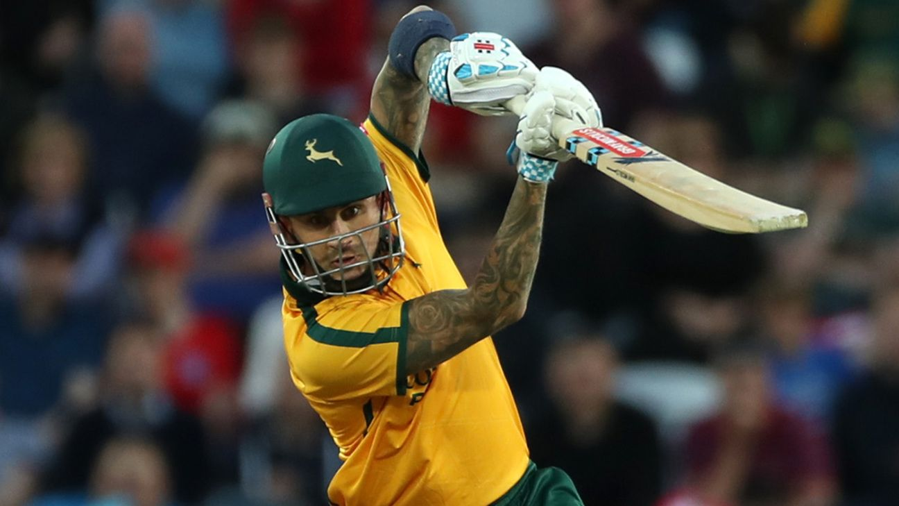 Alex Hales and Thunder join forces in Sydney for the BBL