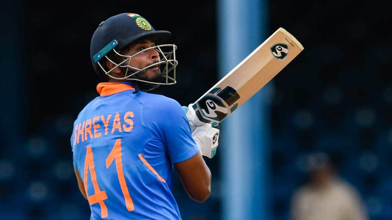 Shreyas Iyer sticks to the nuts and bolts of middle-order ODI batting
