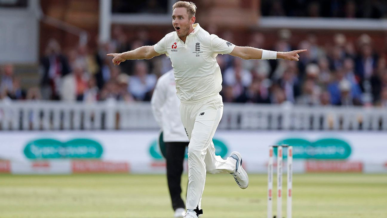 Stuart Broad in 'good place' after summer reinvention
