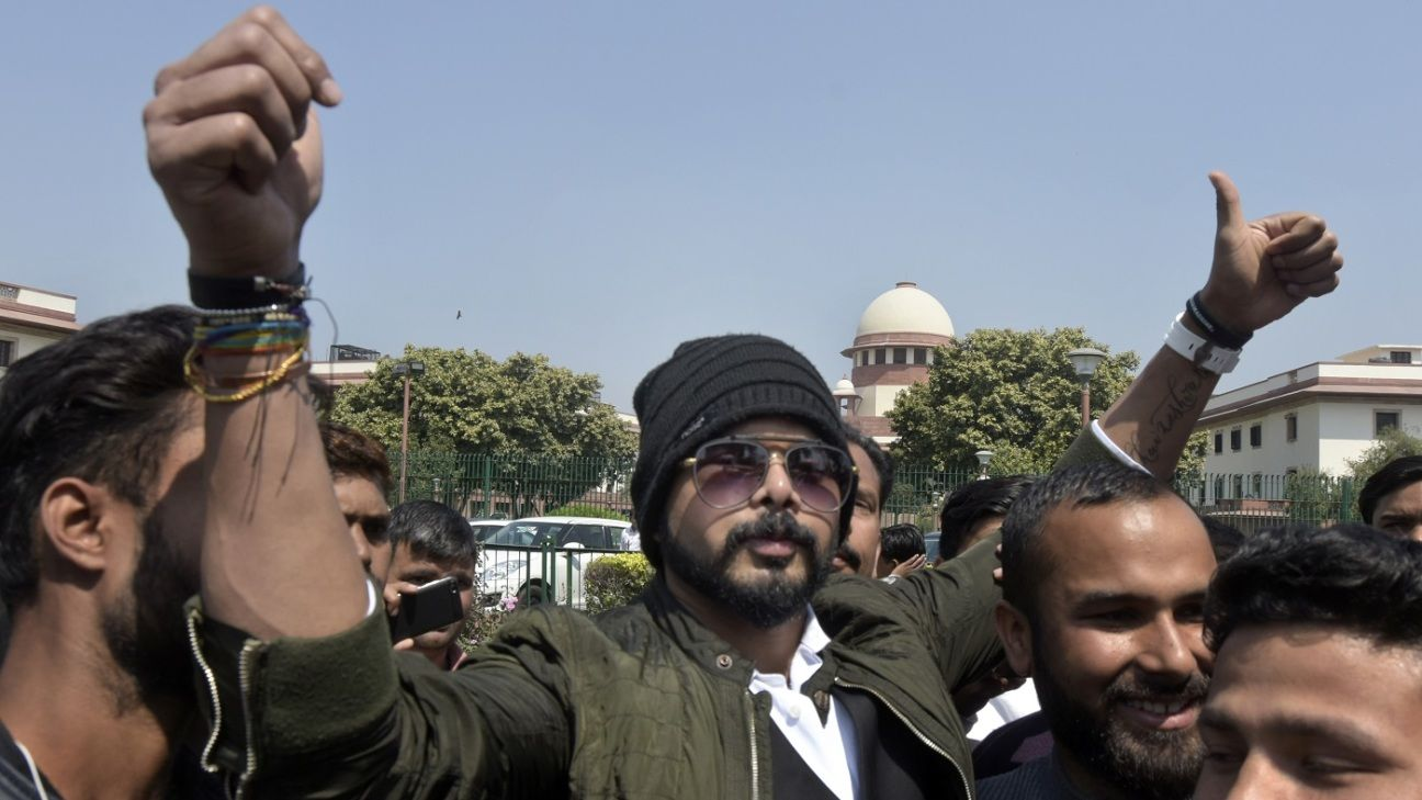 Timeline - How the Sreesanth saga played out in the courtrooms
