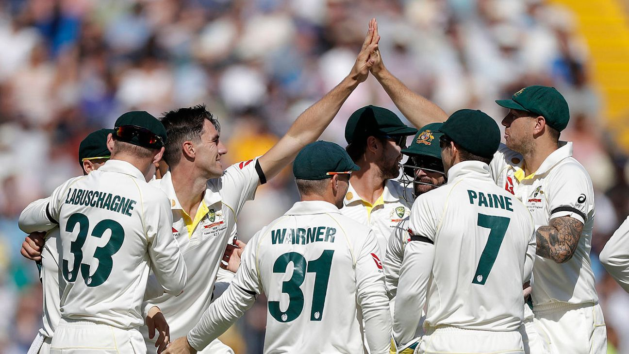 Australia find Ashes gold at end of pace rainbow