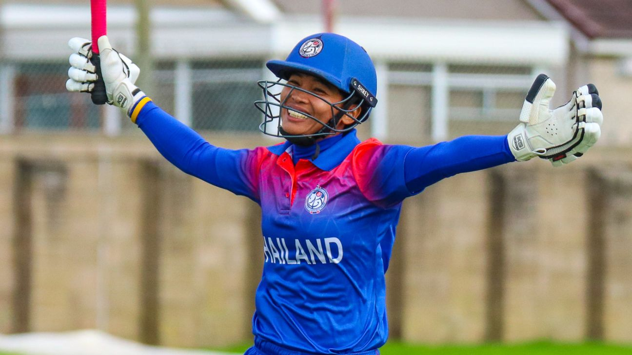 From 40 all out to the T20 World Cup – Thailand women live the dream