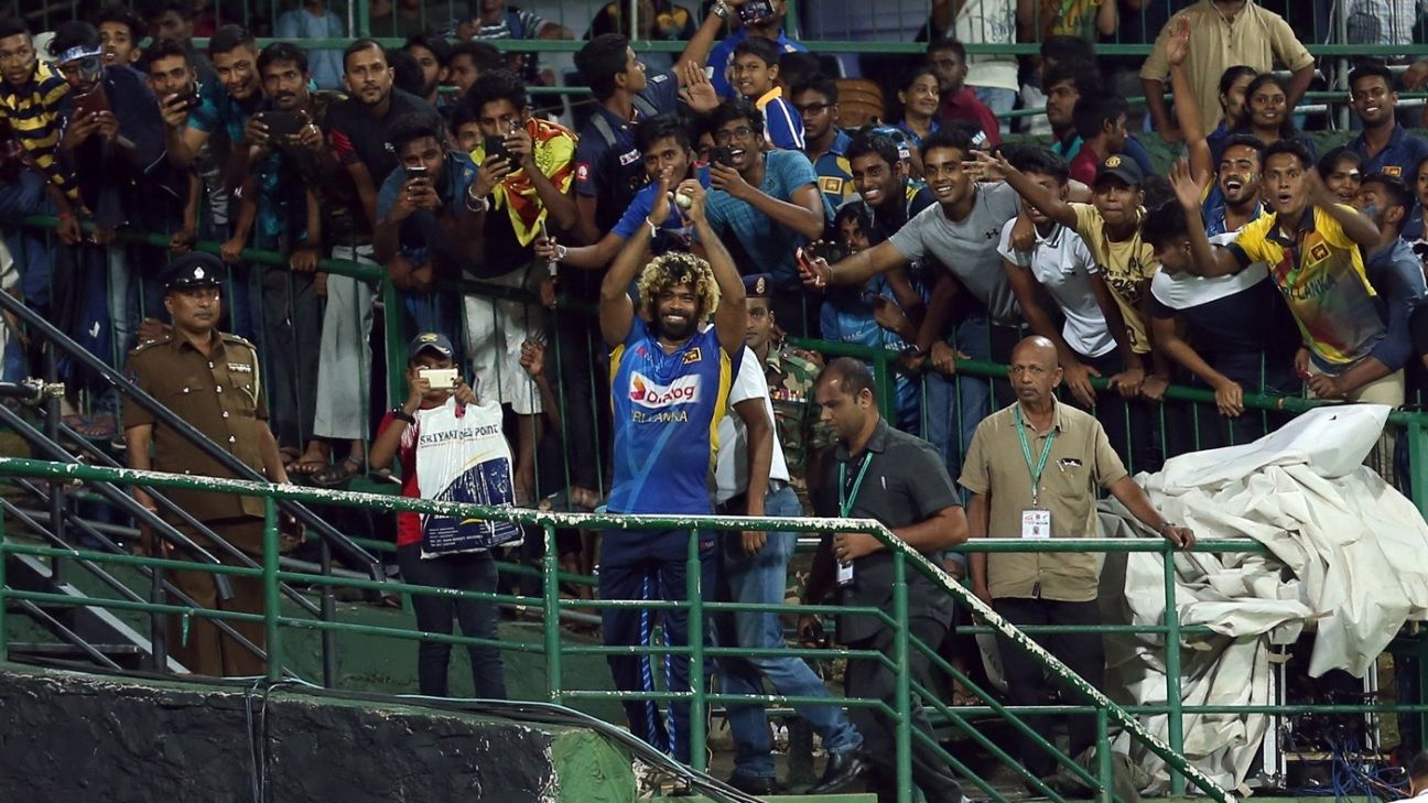 'Why not try it a fourth time?' - how Malinga swung and yorked his way to history, again