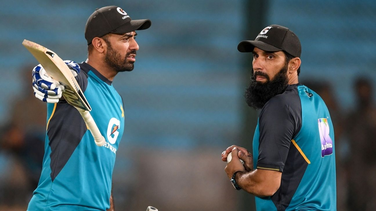 Pakistan 'struggling in every department' in T20Is - Misbah-ul-Haq