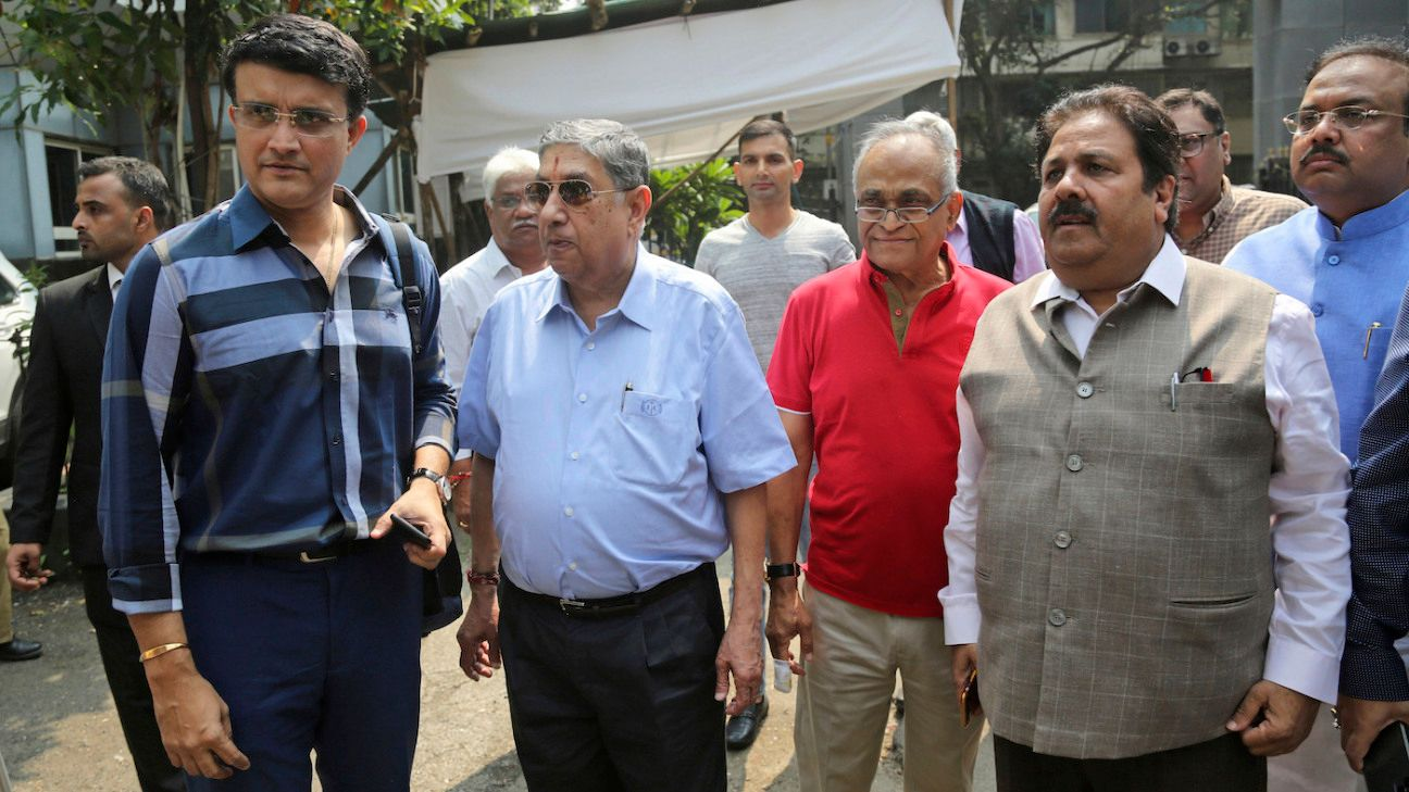 Sourav Ganguly formally takes over as BCCI president