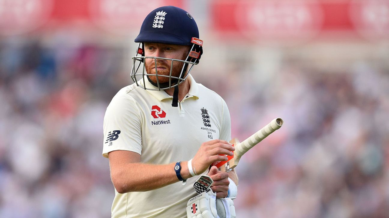 Jonny Bairstow targets T20s in New Zealand as first step to Test comeback