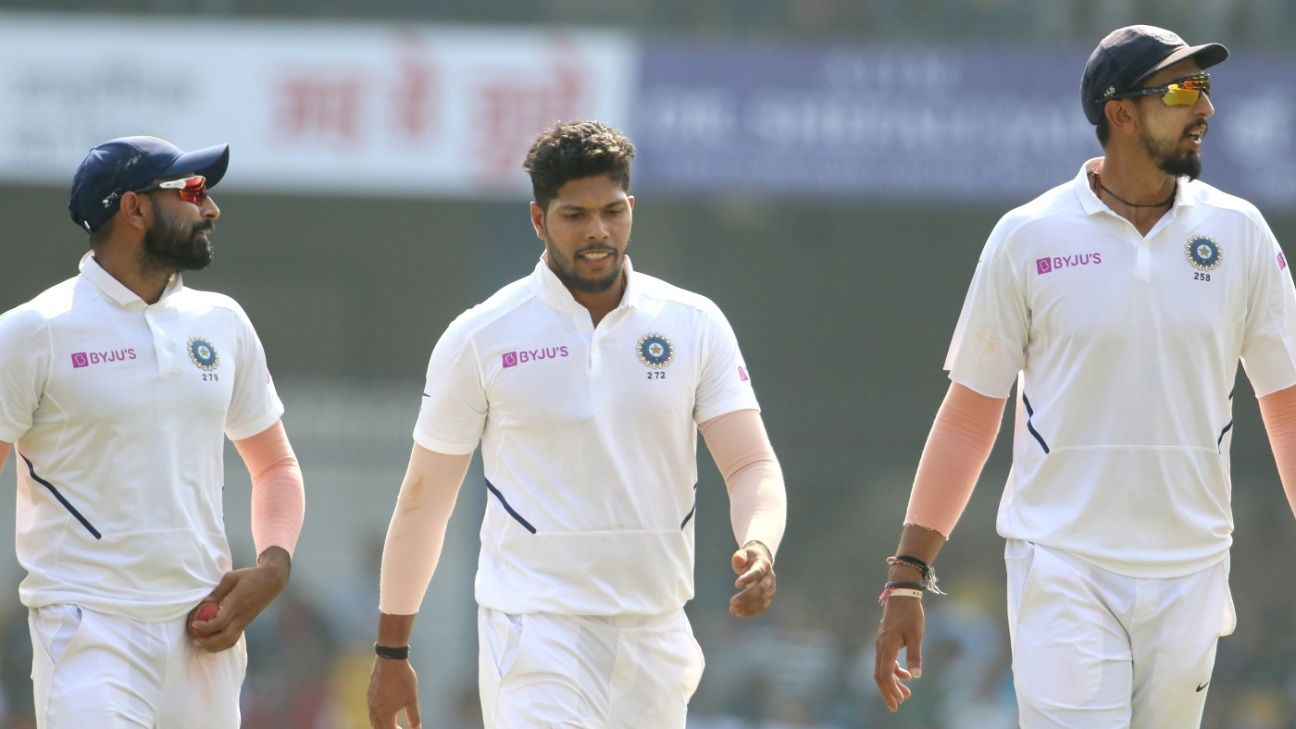 'Tell us your secret, we're tired of only beating the bat' - Ishant to Shami