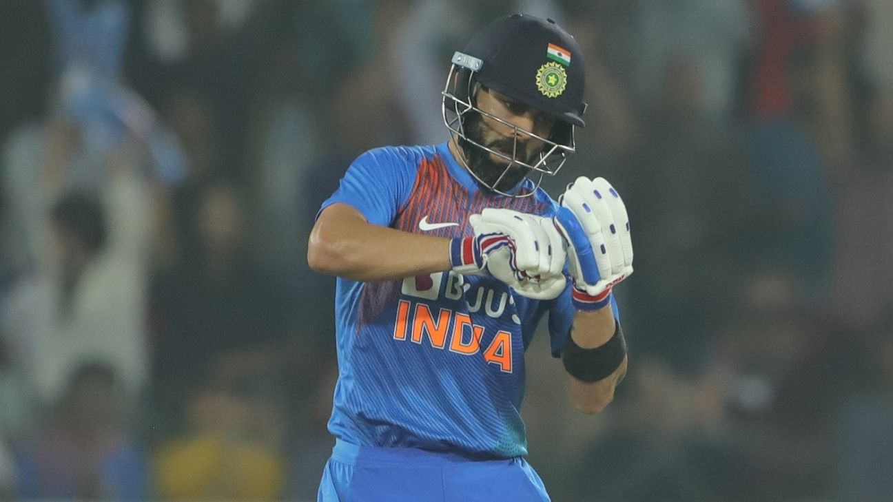 I don't come to entertain people by hitting in the air - Virat Kohli