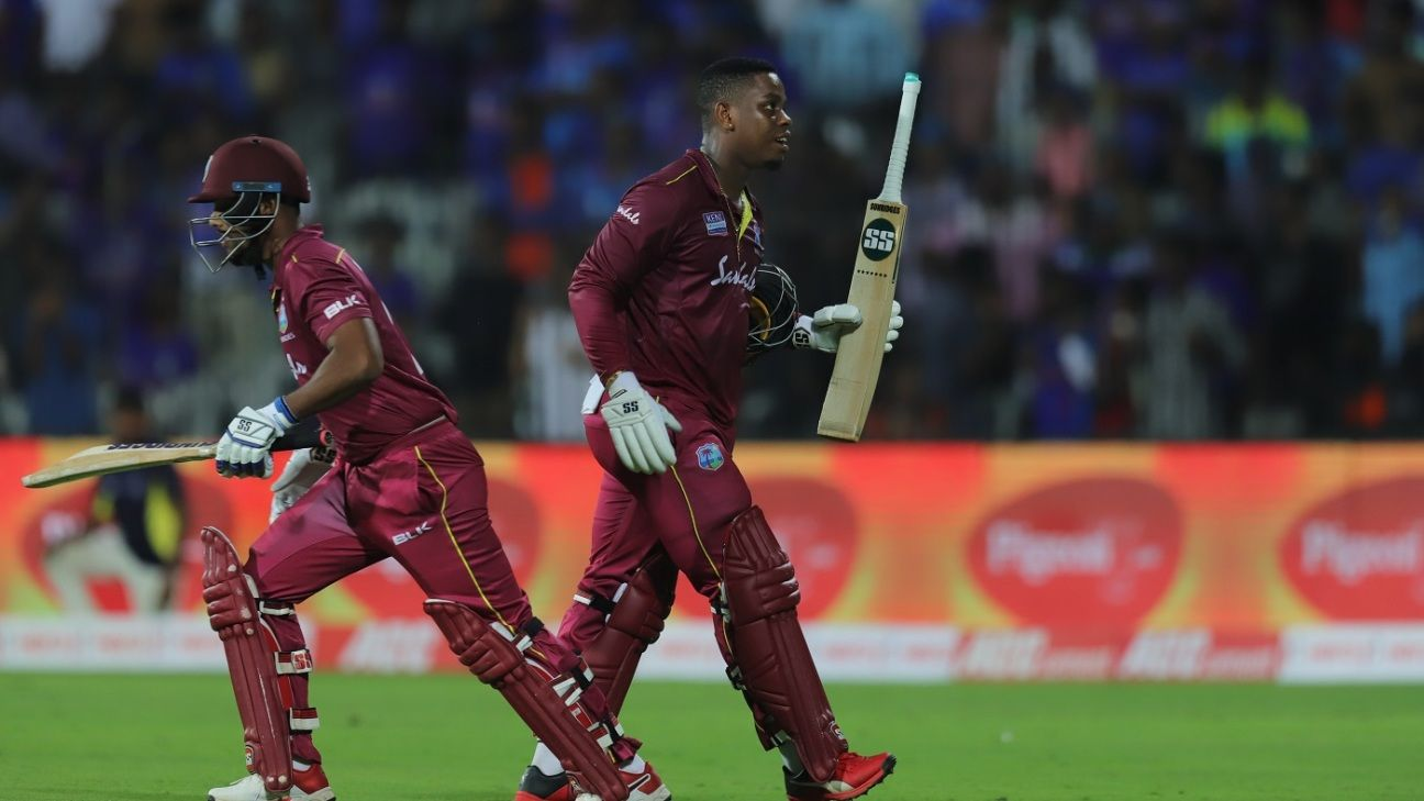Opposites Hetmyer and Hope find the perfect balance for West Indies