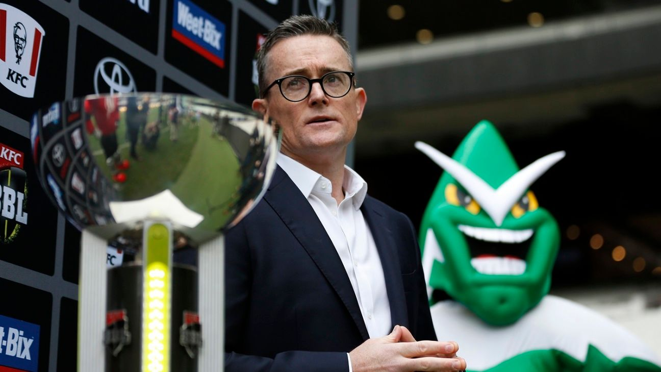 All sports in Australia look at BBL 'with a degree of envy' - Alistair Dobson