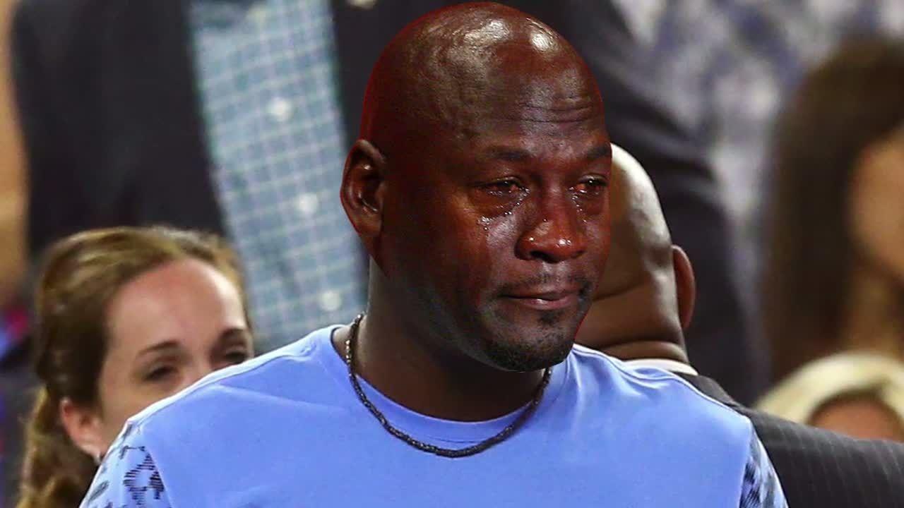 Delegación Montaña Kilauea enfermedad  The Michael Jordan crying meme spares no one - ESPN Video