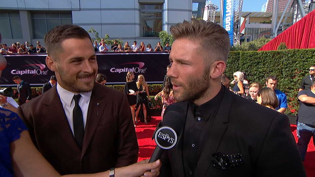 Amendola Edelman Talk Bro Cation Espn Video