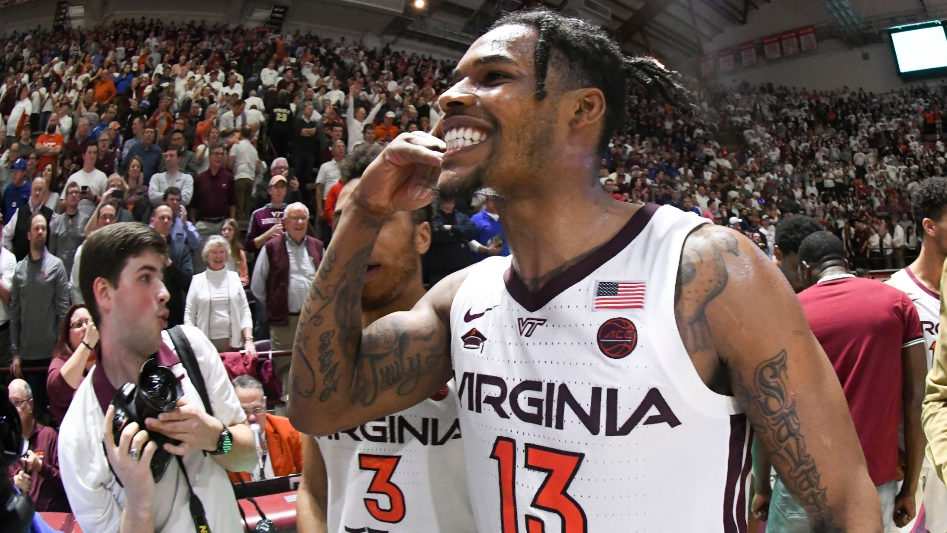 Virginia Tech holds off late Duke push - ESPN Video | Basketball-Addict