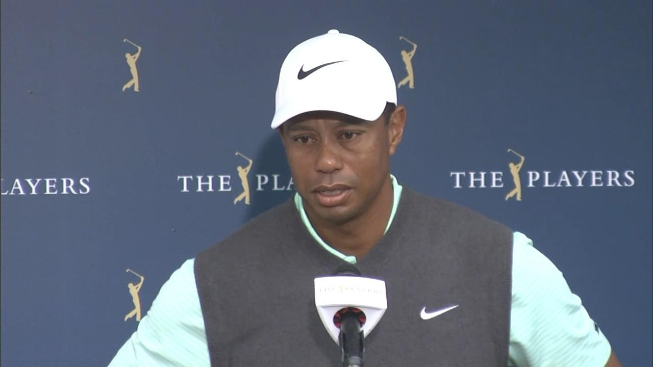 Tiger missed avoiding second water shot on 17